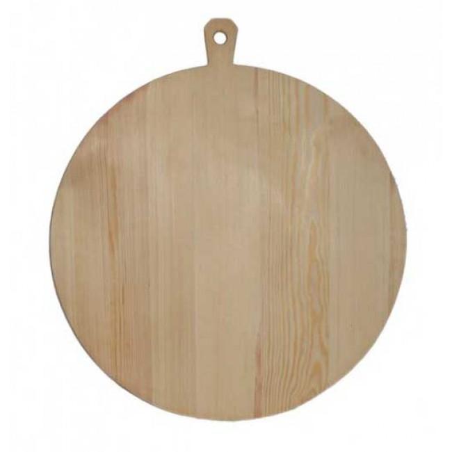 Πλαστήρι ξύλινο στρογγυλό 70x4x79εκ. Νο70